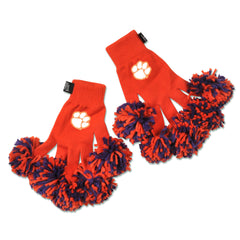 Clemson Tigers NCAA Spirit Fingerz Cheerleading Pom-Pom Gloves