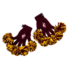 Cleveland Cavaliers NBA Spirit Fingerz Cheerleading Pom-Pom Gloves
