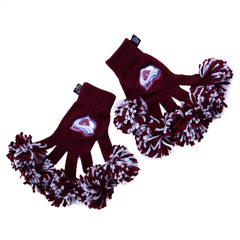 Colorado Avalanche NHL Spirit Fingerz Cheerleading Pom-Pom Gloves
