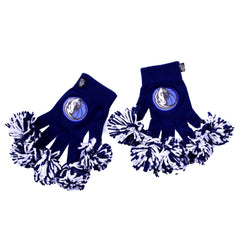 Dallas Mavericks NBA Spirit Fingerz Cheerleading Pom-Pom Gloves