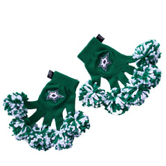 Dallas Stars NHL Spirit Fingerz Cheerleading Pom-Pom Gloves