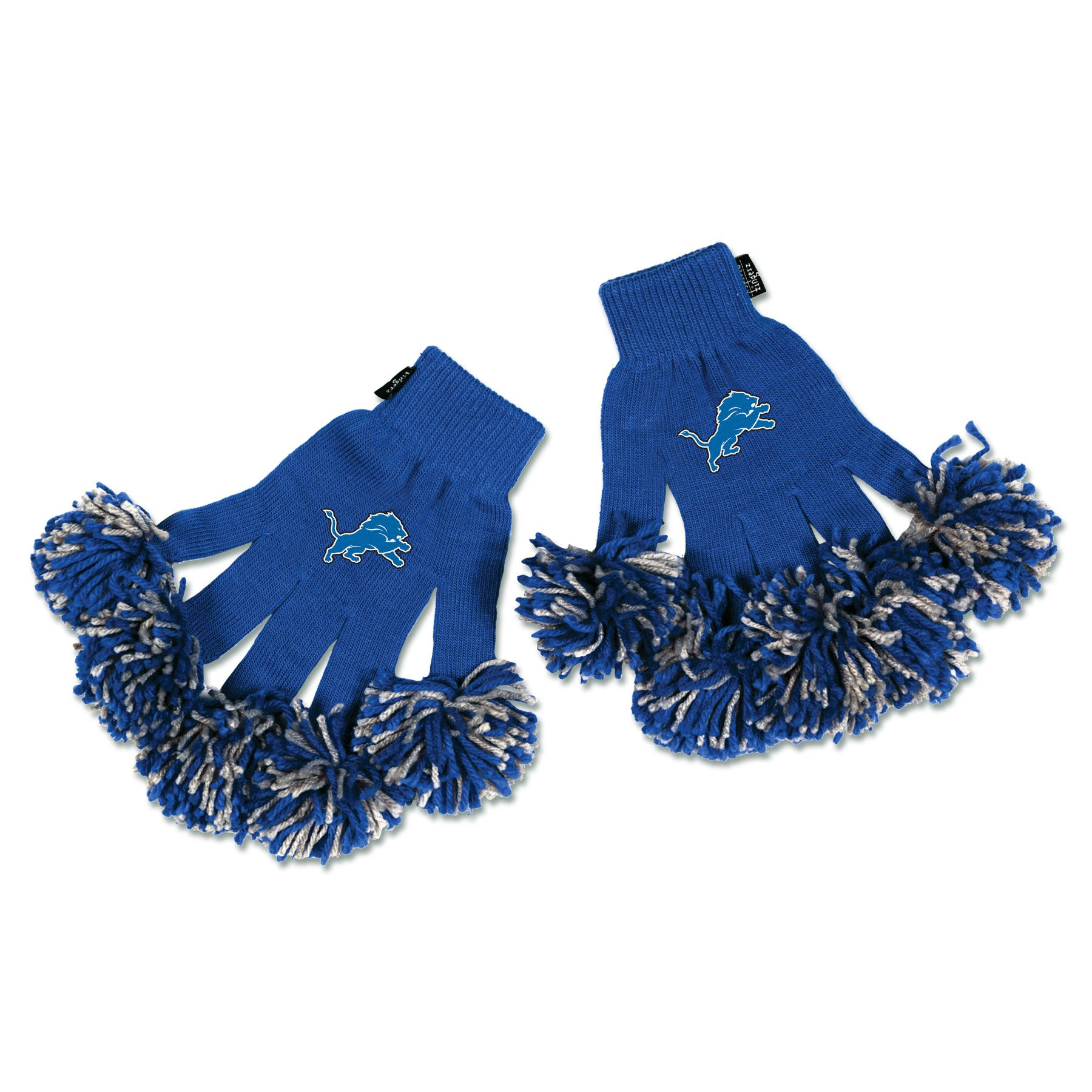 Detroit Lions NFL Spirit Fingerz Cheerleading Pom-Pom Gloves