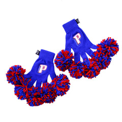Detroit Pistons NBA Spirit Fingerz Cheerleading Pom-Pom Gloves