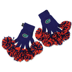 Florida Gators NCAA Spirit Fingerz Cheerleading Pom-Pom Gloves