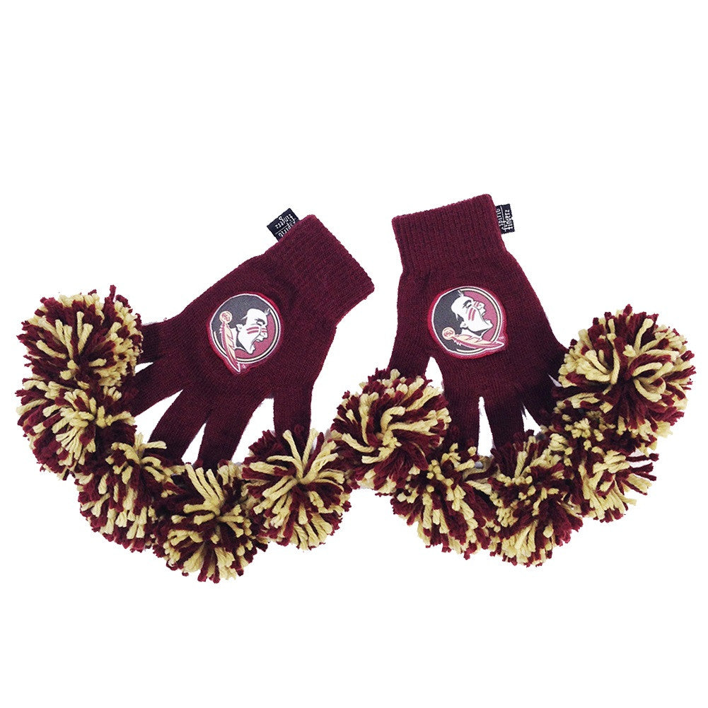 Florida State Seminoles NCAA Spirit Fingerz Cheerleading Pom-Pom Gloves