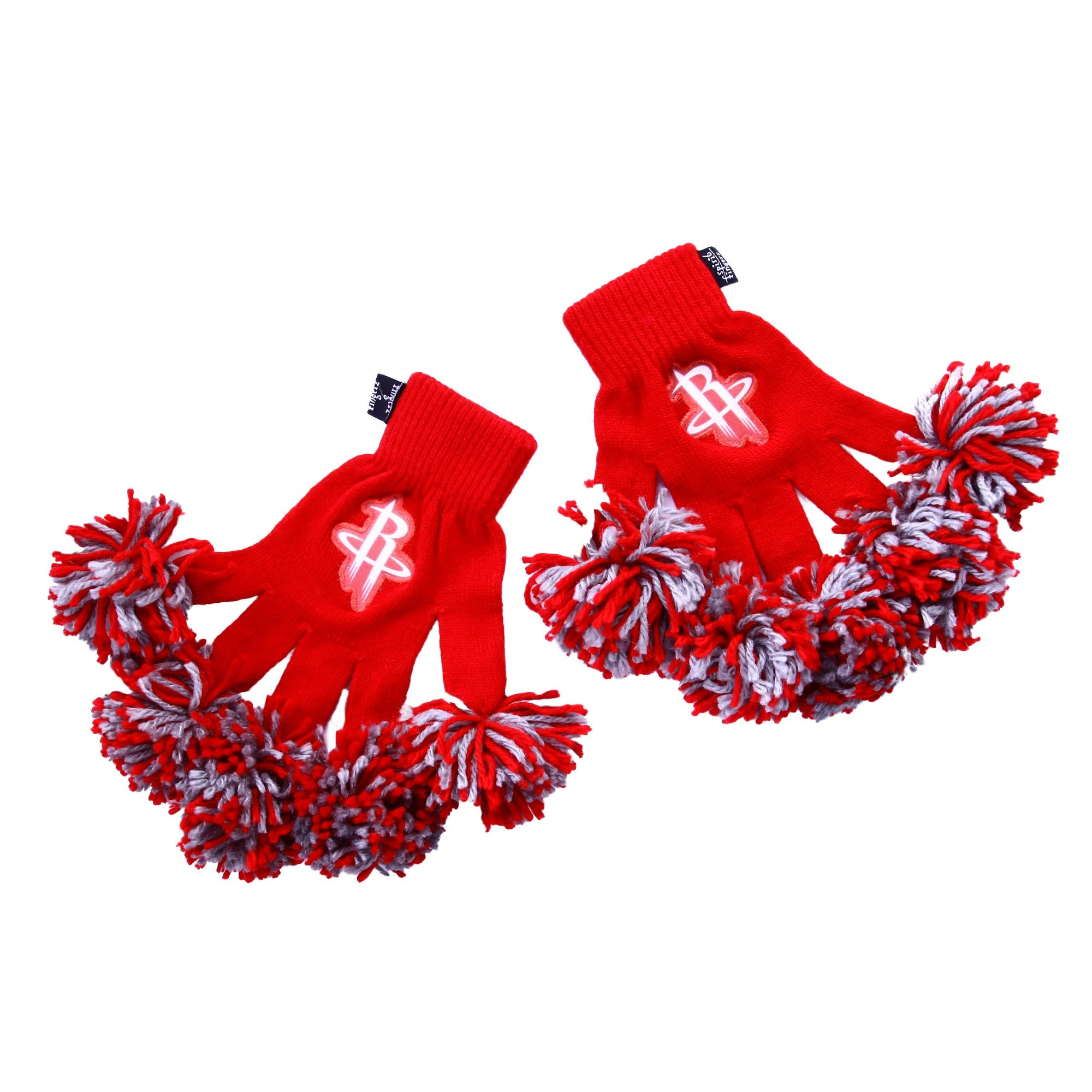 Houston Rockets NBA Spirit Fingerz Cheerleading Pom-Pom Gloves