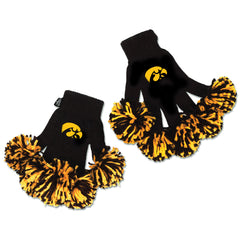 Iowa Hawkeyes NCAA Spirit Fingerz Cheerleading Pom-Pom Gloves