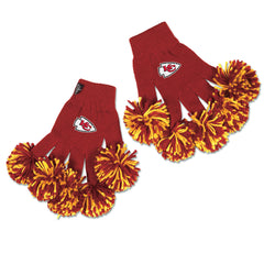 Kansas City Chiefs NFL Spirit Fingerz Cheerleading Pom-Pom Gloves