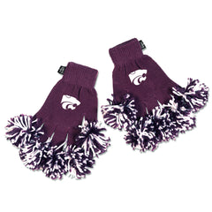 Kansas State Wildcats NCAA Spirit Fingerz Cheerleading Pom-Pom Gloves
