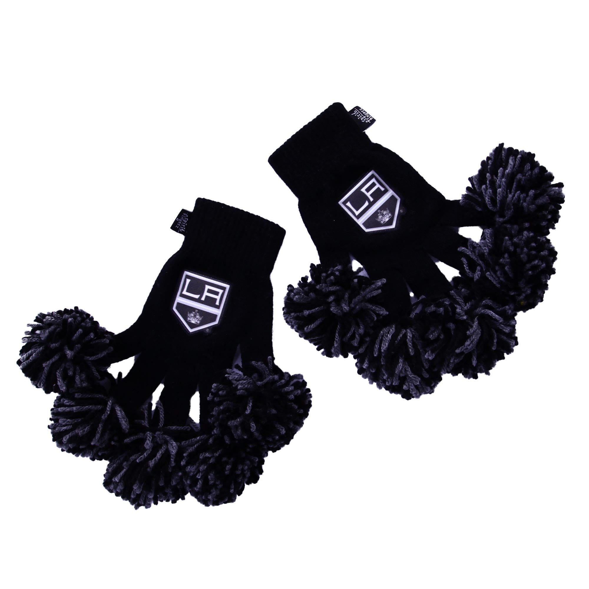 Los Angeles Kings NHL Spirit Fingerz Cheerleading Pom-Pom Gloves