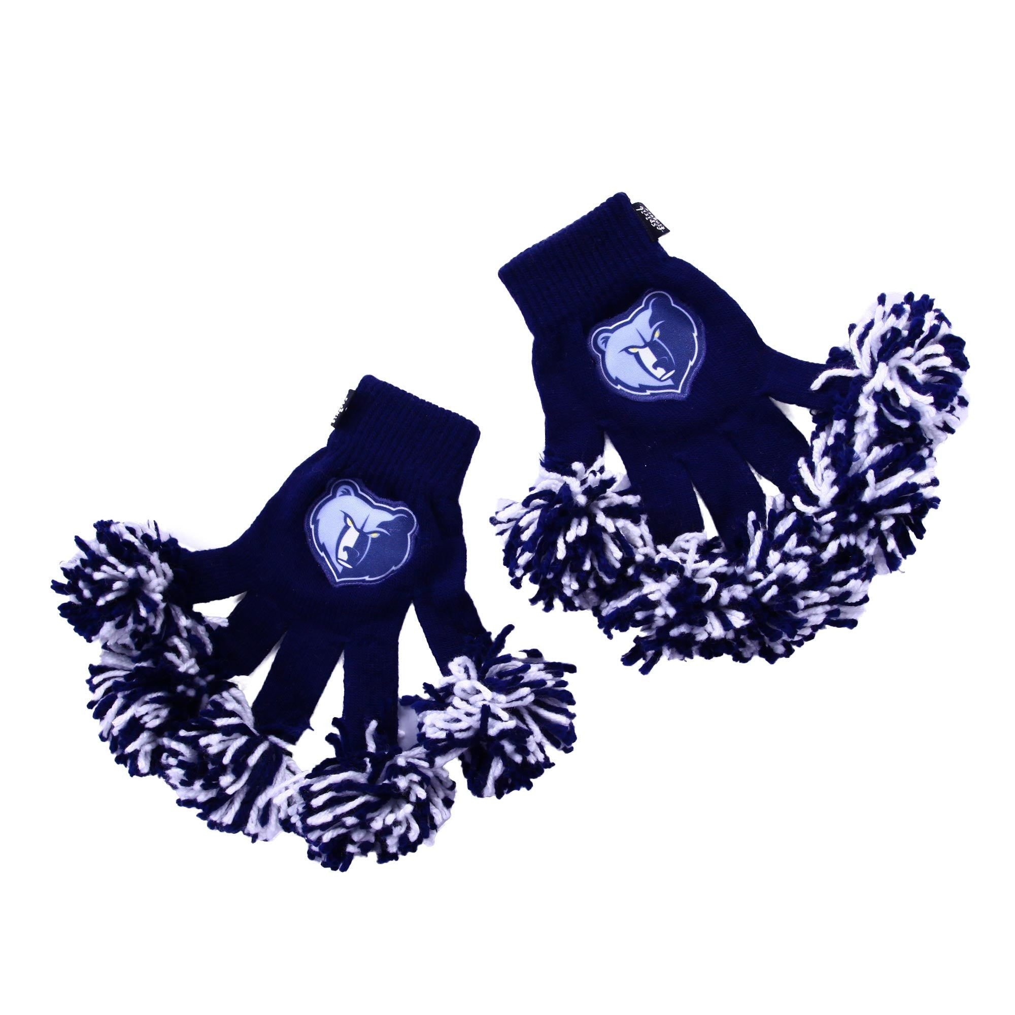 Memphis Grizzlies NBA Spirit Fingerz Cheerleading Pom-Pom Gloves