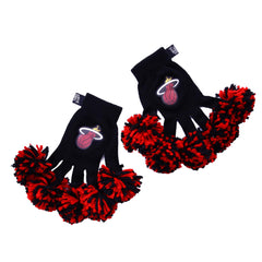 Miami Heat NBA Spirit Fingerz Cheerleading Pom-Pom Gloves