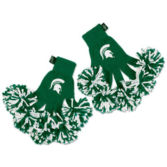 Michigan State Spartans NCAA Spirit Fingerz Cheerleading Pom-Pom Gloves