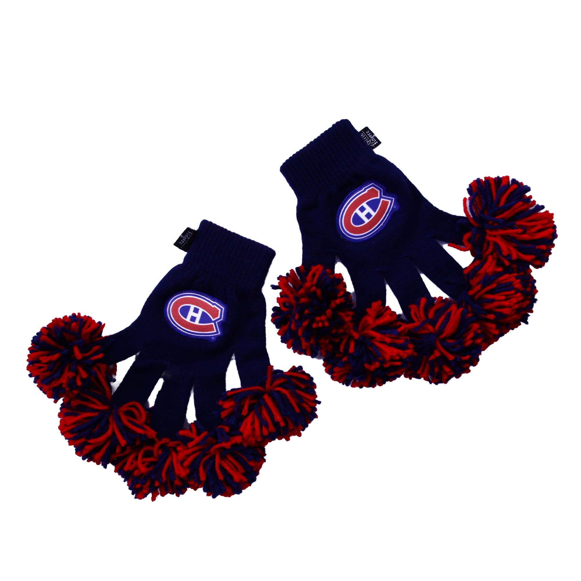 Montreal Canadiens NHL Spirit Fingerz Cheerleading Pom-Pom Gloves