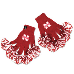 Nebraska Cornhuskers NCAA Spirit Fingerz Cheerleading Pom-Pom Gloves