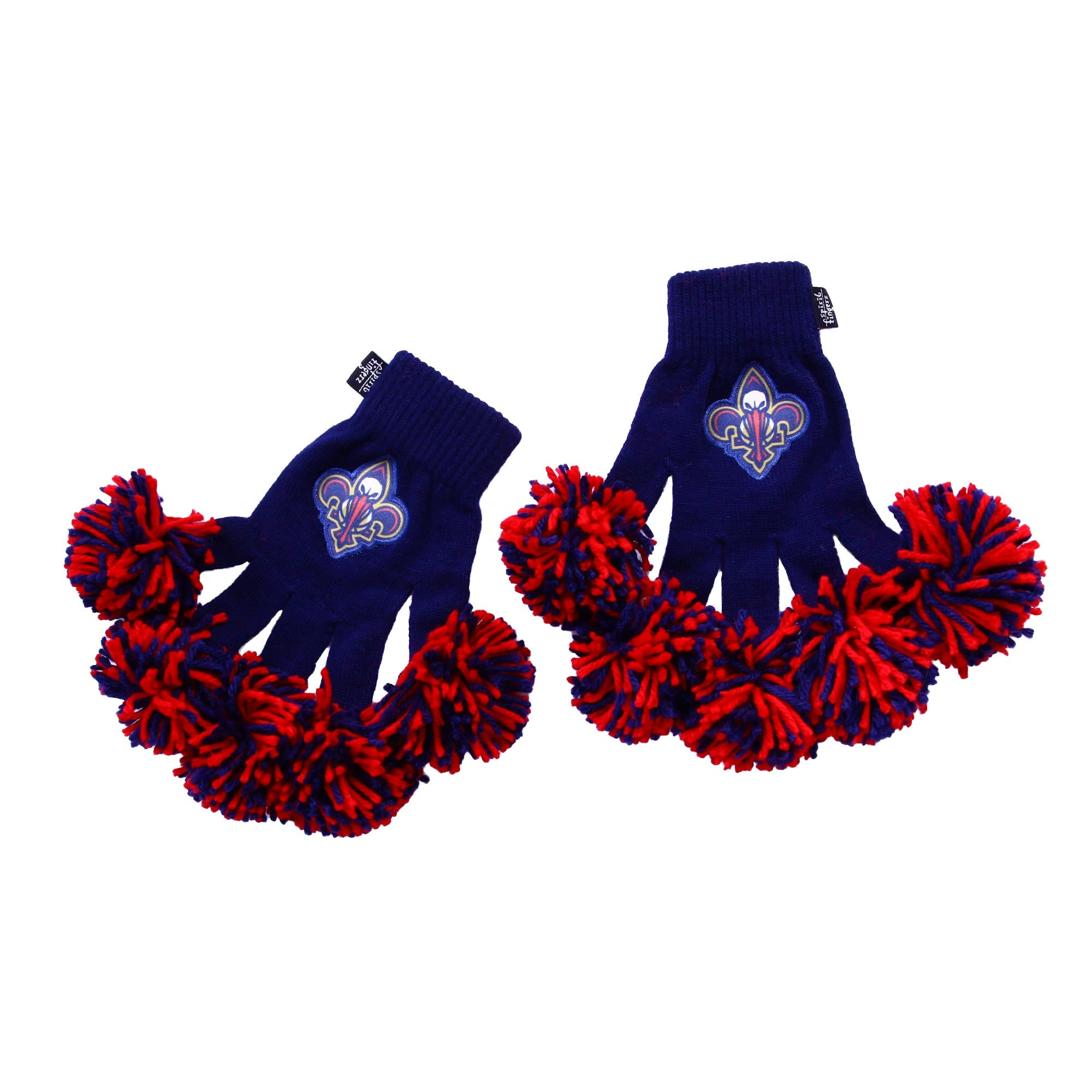 New Orleans Pelicans NBA Spirit Fingerz Cheerleading Pom-Pom Gloves