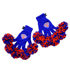 New York Knicks NBA Spirit Fingerz Cheerleading Pom-Pom Gloves