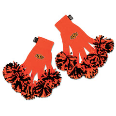 Oklahoma State Cowboys/Cowgirls NCAA Spirit Fingerz Cheerleading Pom-Pom Gloves