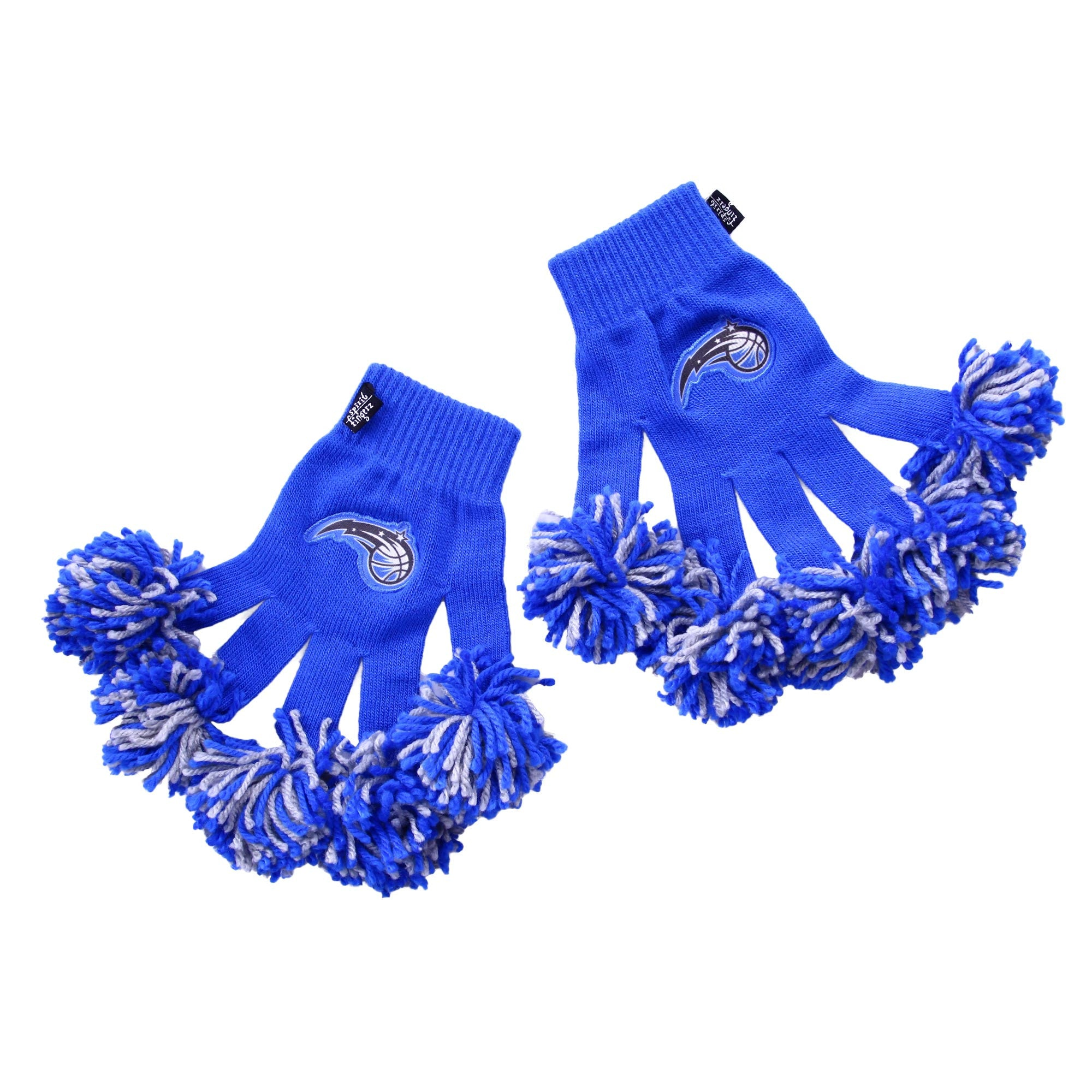 Orlando Magic NBA Spirit Fingerz Cheerleading Pom-Pom Gloves