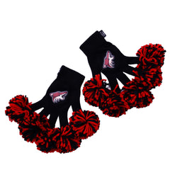 Arizona Coyotes NHL Spirit Fingerz Cheerleading Pom-Pom Gloves