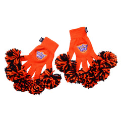 Phoenix Suns NBA Spirit Fingerz Cheerleading Pom-Pom Gloves