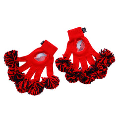 Portland Trail Blazers NBA Spirit Fingerz Cheerleading Pom-Pom Gloves