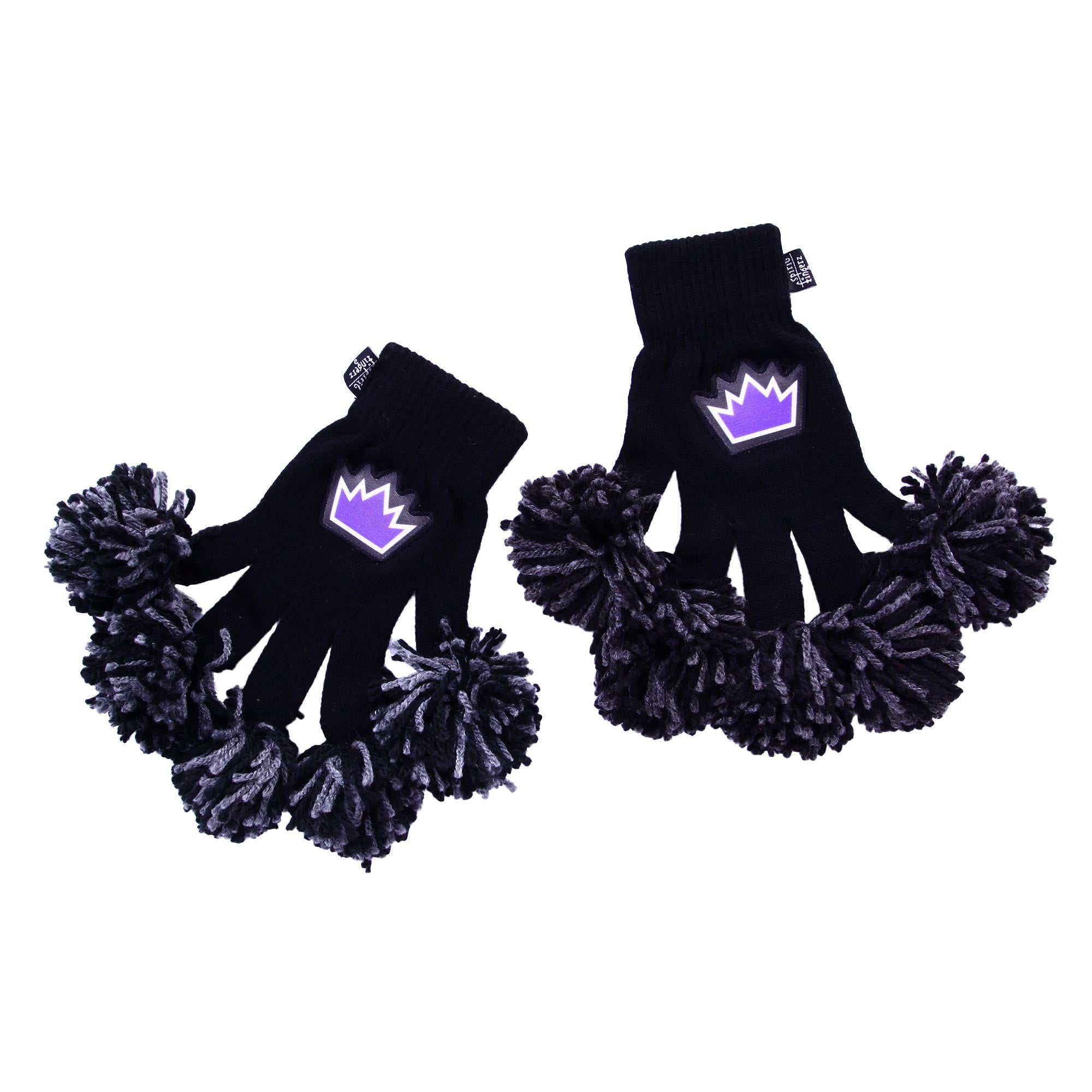 Sacramento Kings NBA Spirit Fingerz Cheerleading Pom-Pom Gloves