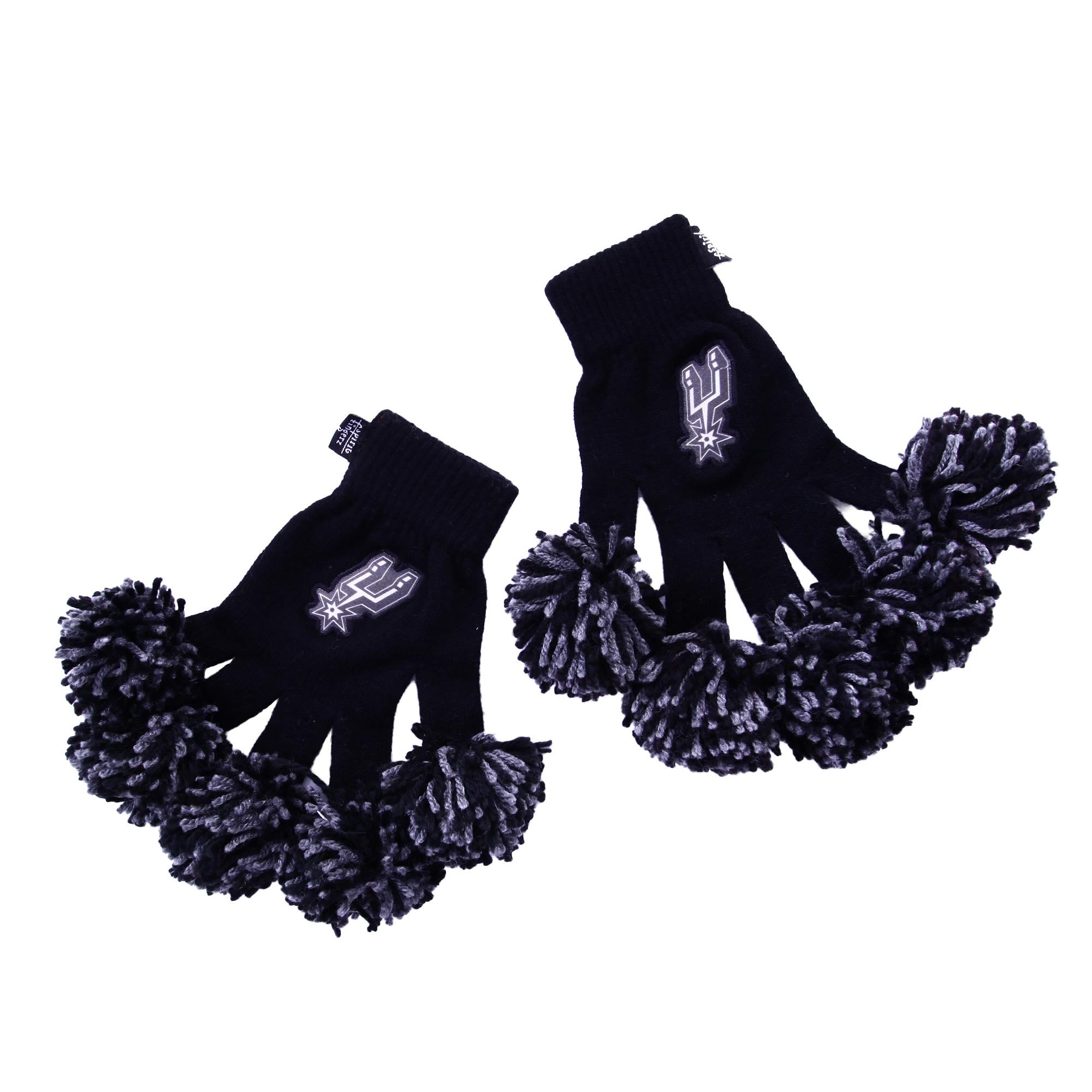 San Antonio Spurs NBA Spirit Fingerz Cheerleading Pom-Pom Gloves