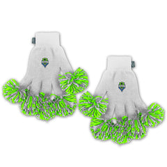 Seattle Sounders FC MLS Spirit Fingerz Cheerleading Pom-Pom Gloves