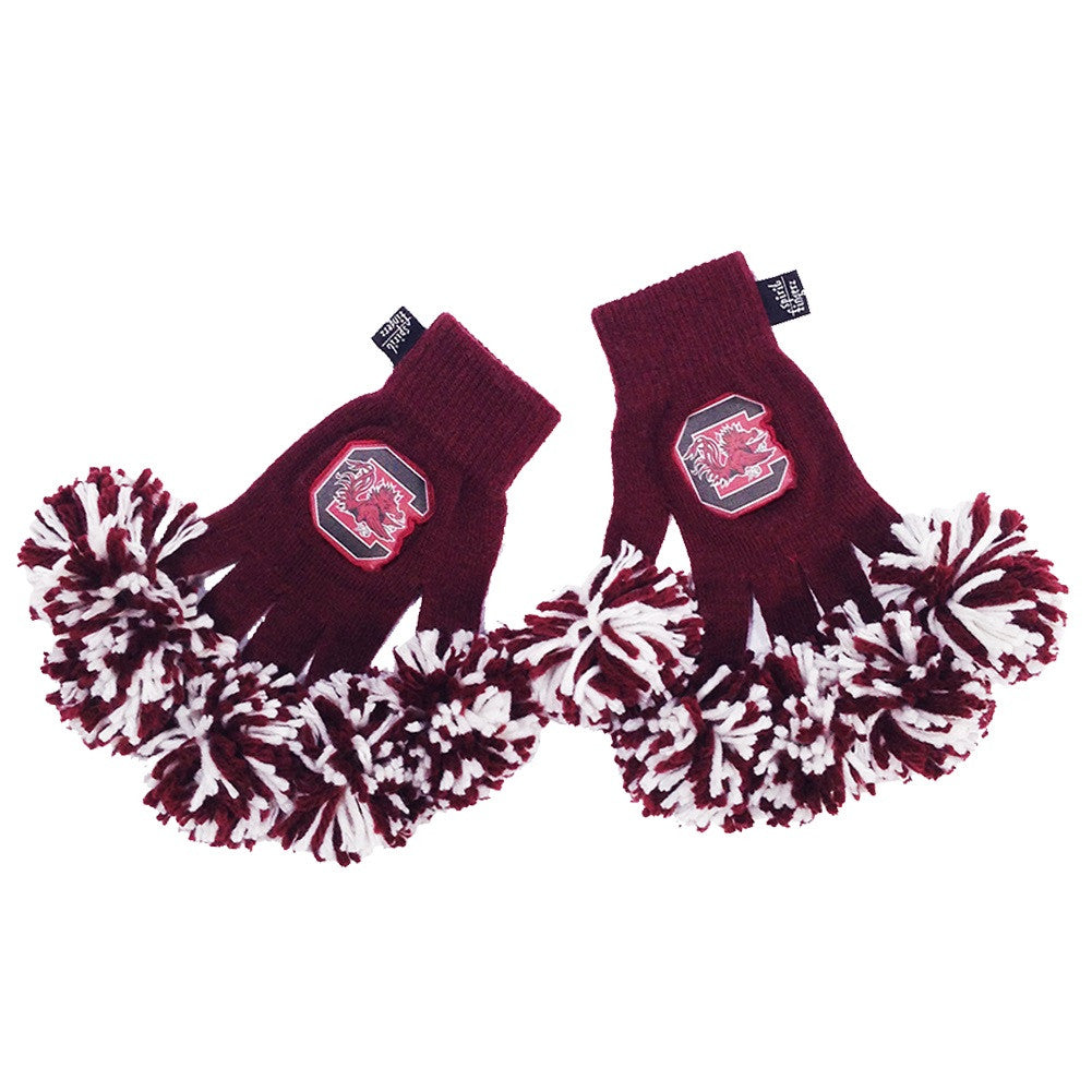 South Carolina Gamecocks NCAA Spirit Fingerz Cheerleading Pom-Pom Gloves
