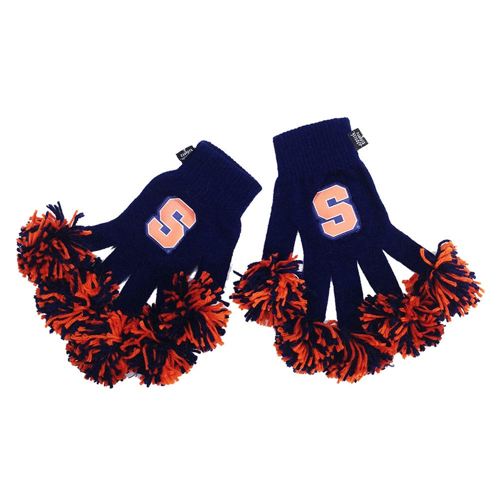 Syracuse Orange NCAA Spirit Fingerz Cheerleading Pom-Pom Gloves