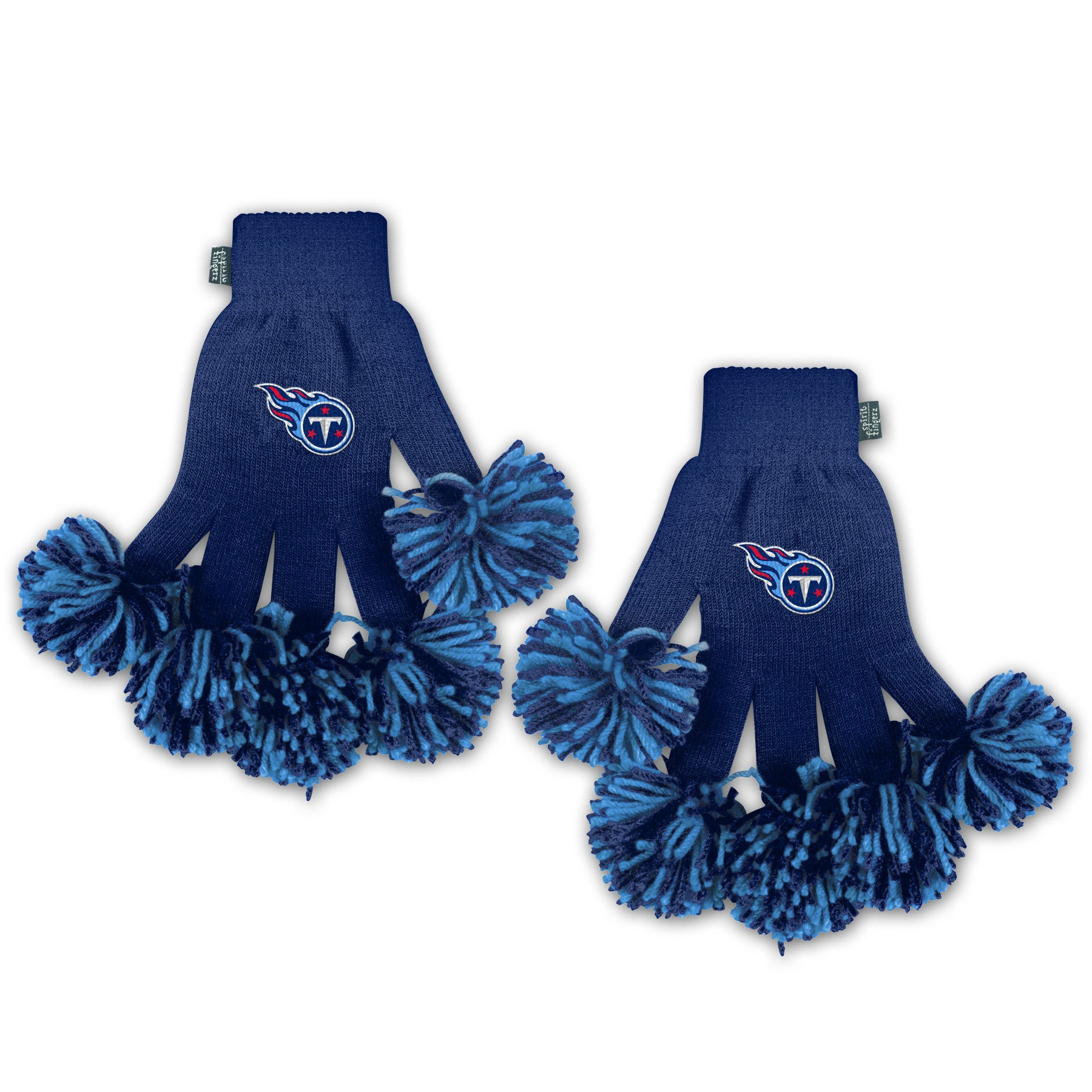 Tennessee Titans NFL Spirit Fingerz Cheerleading Pom-Pom Gloves