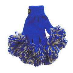 Blue & Ash Spirit Fingerz Cheerleading Pom-Pom Gloves