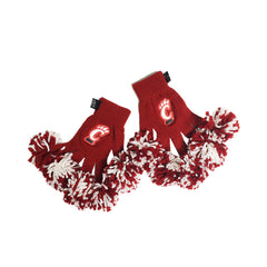 Cincinnati Bearcats NCAA Spirit Fingerz Cheerleading Pom-Pom Gloves