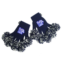Memphis Tigers NCAA Spirit Fingerz Cheerleading Pom-Pom Gloves