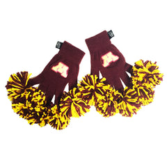 Minnesota Golden Gophers NCAA Spirit Fingerz Cheerleading Pom-Pom Gloves