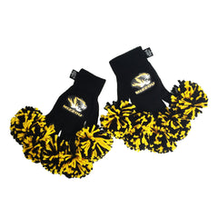 Missouri Tigers NCAA Spirit Fingerz Cheerleading Pom-Pom Gloves