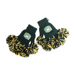 Ohio University Bobcats NCAA Spirit Fingerz Cheerleading Pom-Pom Gloves