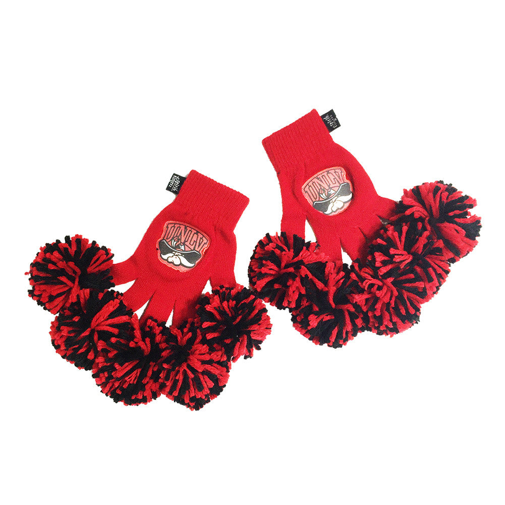 UNLV Rebels NCAA Spirit Fingerz Cheerleading Pom-Pom Gloves