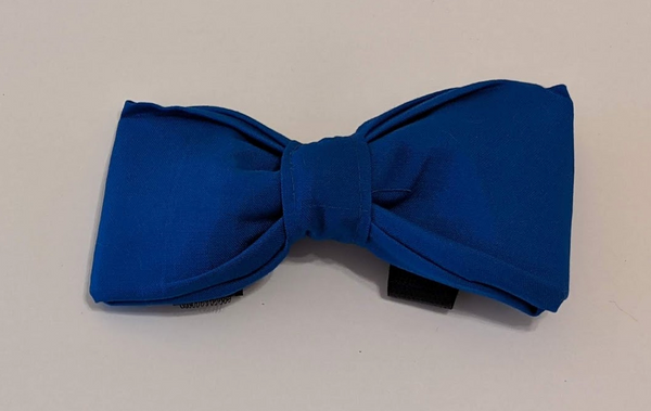 Removable Collar Bowtie - (Blue)