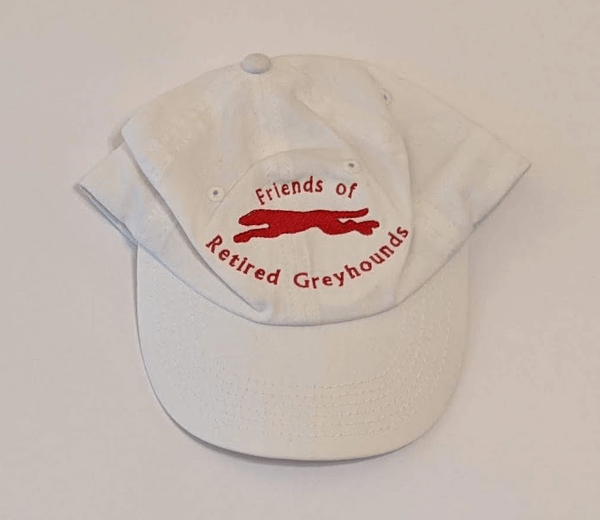 Hat-FORG Baseball Cap (White and Red) - Size Child