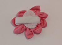 Removable Collar Flower - (Pink)