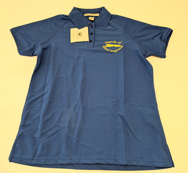 Dri-Fast Polo Shirt - FORG Logo (Blue and Yellow)