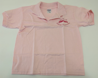 Shirt-Polo Shirt - FORG Logo (Pink and Dark Pink)