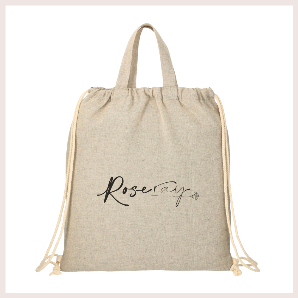 Rose Ray 100% Recycled Cotton Bag
