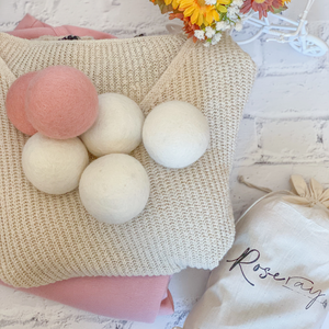 [ROSE RAY] 100% Wool Eco Dryer Balls