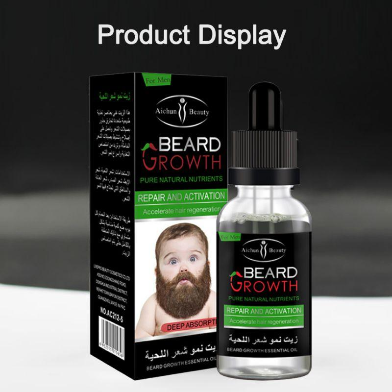 Iron Beard - Beard Growth Serum Hair Loss Products Rose Lips Store