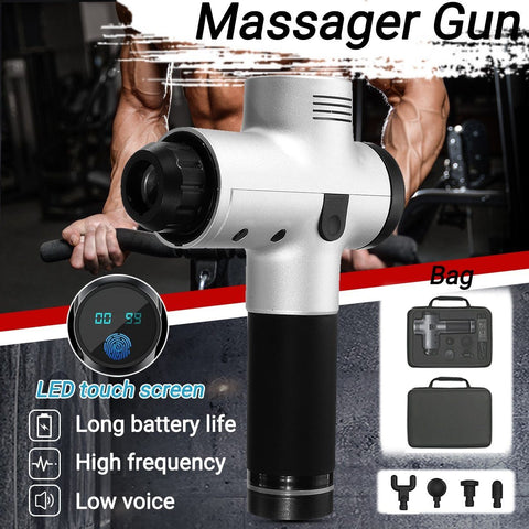 Image of Muscle Massage Gun Massage & Relaxation Yisi5 Beauty and Health