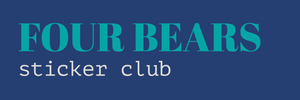 Four Bears Sticker Club
