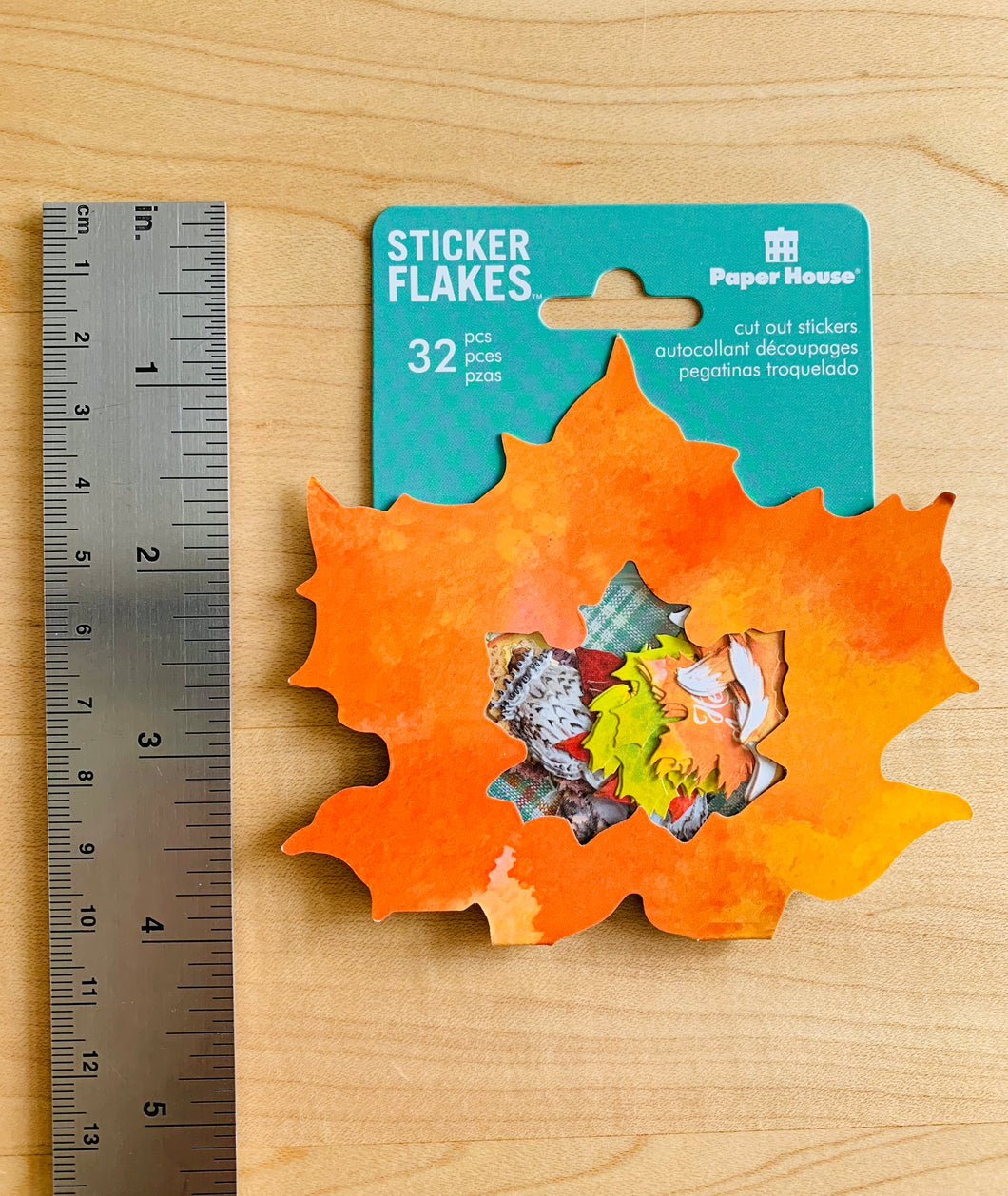 Autumn Woods Sticker Flakes